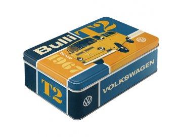 Dóza na potraviny VW Bulli T2 23x16cm