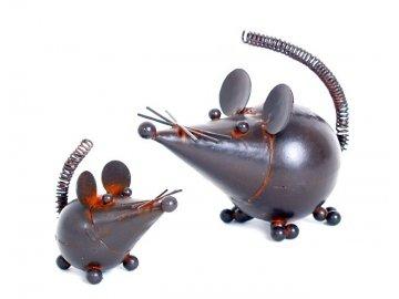 Myš mini | kov | varianty | 10cm | 5cm