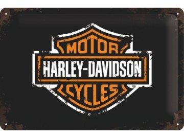 Plechová cedule Harley Davidson