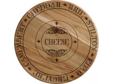 Prkénko na sýr   Gourmet Cheese   33x33x2cm