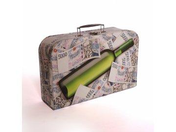 Dětský kufřík | milionový | 35x23x11cm