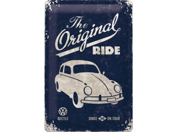 Plechová cedule Volkswagen The Original Ride Dark 20x30cm