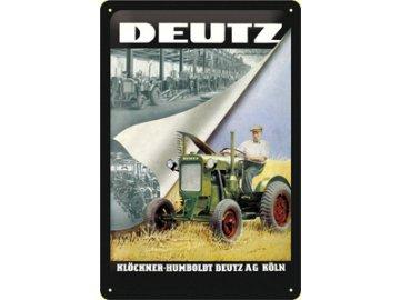 Plechová cedule Deutz