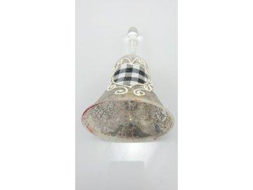 Zvonek sklo 8x15cm