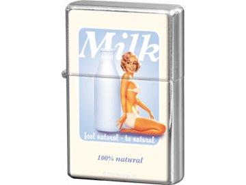 Zapalovač Milk