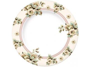 Porcelánový talíř Cottage Flower