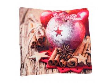 Polštář Jablko 45x45cm
