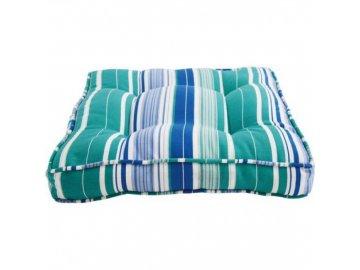 Venkovní sedák na židle INTO THE BLUE | bavlna | 43x43x8cm