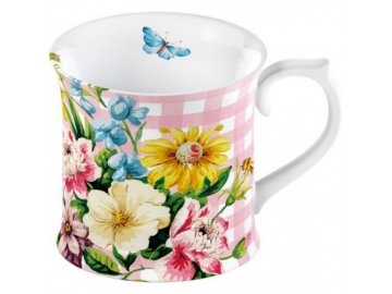 43922 hrnek english garden porcelan 10x10x9cm