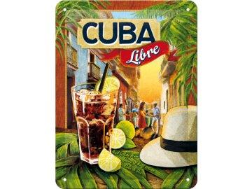 Plechová cedule Cuba Libre