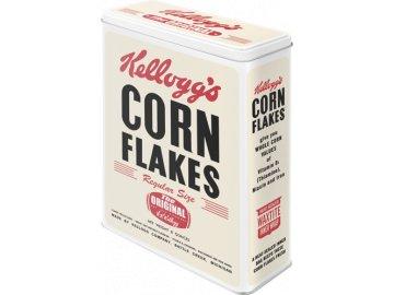 Dóza na potraviny Original Kellogg's Corn Flakes 19x26cm
