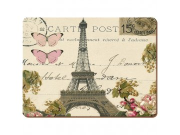 Korkové prostírání Paris Postcard