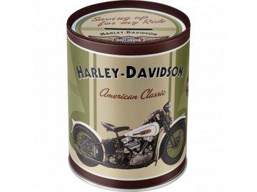Kasička Harley Davidson