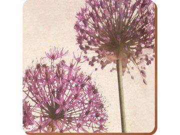 Korkové prostírání Purple Allium