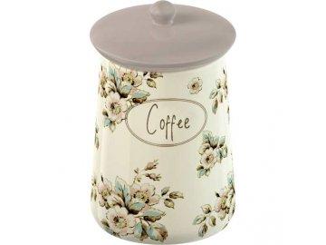 Dóza na kávu Cottage Flower