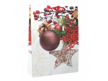 Taška vánoční maxi 44x32x10cm