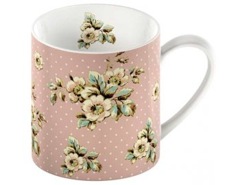 Hrnek Pink Cottage Flower 0,3l