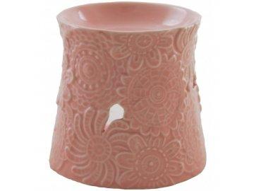 Aromalampa BRIDGEWATER FLOWERS | porcelán | 8x10x9cm