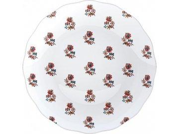 Dezertní talíř DUTCH GARLAND | porcelán | 20x20cm