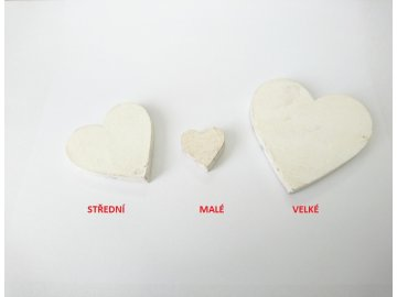 Dekorace srdce baculaté