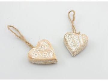 xid112235 srdce prodej 25kc, nákup 15kc, 2ks, 3x3x1cm