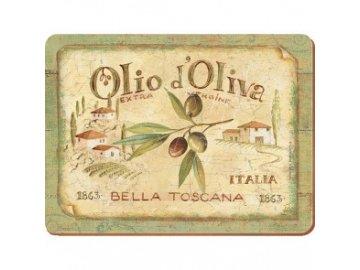 Korkové prostírání Olio d'Oliva