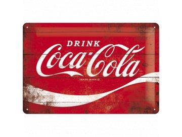 Plechová cedule Coca Cola Refresh