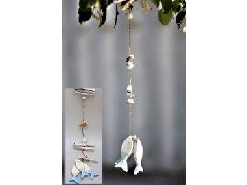 zavesna dekorace ryba