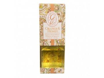 gl signature reed diffuser orange honey