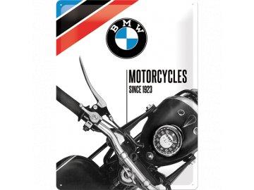 Plechová cedule BMW Motorcycles since 1923