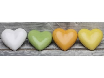 Srdce keramika 3x9x8cm