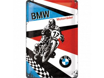 Plechová cedule BMW Motorräder