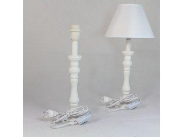 Noha k lampě bílá 36cm