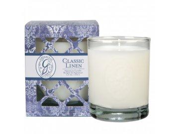 gl signature candle classic linen
