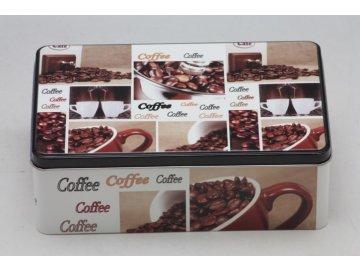 Plechová dóza Coffee 20x13x7cm