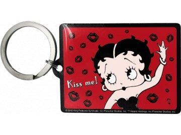 Klíčenka 4x6 cm Betty Boop