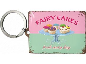 Klíčenka 4x6 cm Fairy Cakes