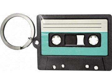 Klíčenka 4x6 cm Cassette