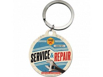 Klíčenka 4x4 cm Service and Repair