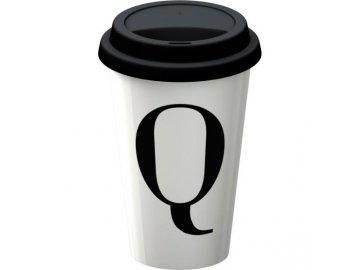 Termohrnek s písmenem Q | 9x9x15cm | 290ml
