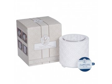 gl fragrance fan diffuser with classic linen fragrance pod