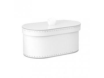 Úložná krabice s víkem | bílá | svatební