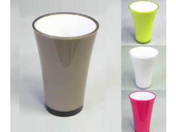 plast vaza fizzy 35cm sedauprava