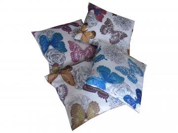 Povlak na polštář Klasic motýl 45x45cm