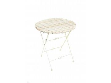 Zahradní skládací stolek