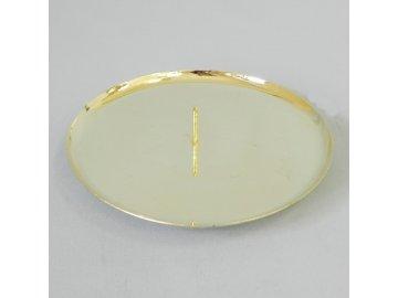 bodec na stul kov pr 7 5cm zlata