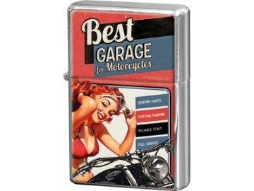 Zapalovač Best Garage II 4x6cm