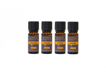 Olej aromatický roční období set 4ks