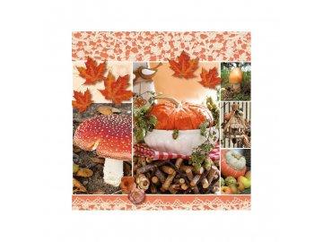 Ubrousky Podzimní koláž