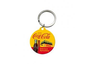 KLÍČENKA 4x4cm Coca-Cola